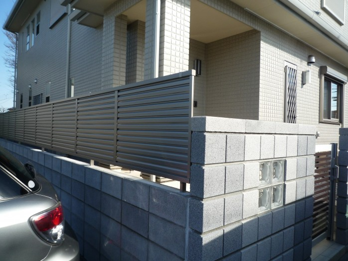 LIXIL プリレオR9型フェンス
