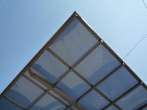 カーポート屋根 熱線吸収アクアシャイン ポリカーボネート板